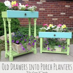 Got Old Drawers?  Then Maybe You Want to Make Them Into....