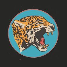 Instagram media by ianwilliamsart - Jaguar sketch #jaguar #illustration #ipad #procreate