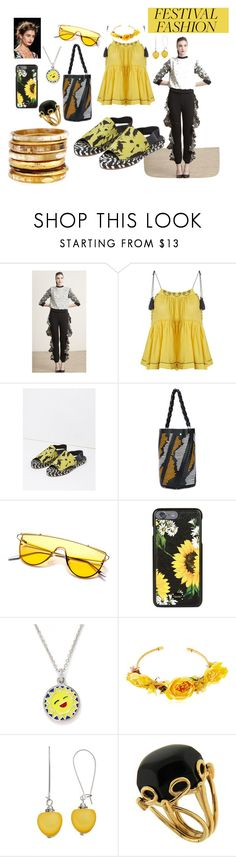 """Untitled #1593"" by moestesoh ❤ liked on Polyvore featuring Topshop, Proenza Schouler, Dolce&Gabbana, Chrysalis, VANINA, Valentin Magro and Ashley Pittman"