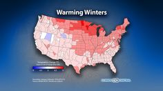 How Winters Are Changing Throughout the U.S. - You may be waiting until December 21 to celebrate winter but if you're meteorologically oriented, now is the time to break out the hot chocolate and ugly sweaters. Meteorological winter officially kicked off this week with a bang in California, providing some much-needed rain to start the wet season there.