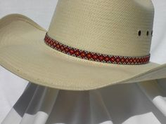 Beaded Hat Bands, Jewelry Making Tutorials, Bead Art, Western Wear, Cowboy Hats, Lazy, My Style, How To Wear, Design