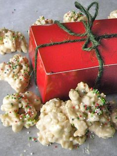 White Chocolate Christmas Candy - best candy ever!  Grandma Wagner made this every year and I couldn't get enough of it!!!!