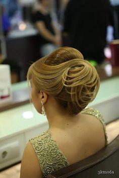 cool 2015 topuz saç modelleri