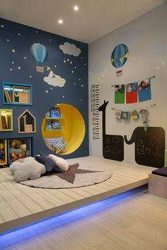 Tipps, wie aus dem Kinderzimmer ein kreativer Raum wird Tips on how the children's room becomes a creative space Baby Bedroom, Baby Boy Rooms, Kids Bedroom, Kids Rooms, Room Kids, Bedroom Decor, Childrens Bedroom, Bedroom Lamps, Young Boys Bedroom Ideas