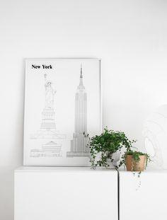 Passion Shake   New York, New York – New Print from Poster Club   http://passionshake.com