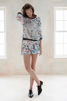 Pollock matched set. Sachin & Babi | Spring 2015 Ready-to-Wear Collection | Style.com