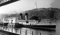 Tour Scotland Photographs: Old Photograph King George V Steamer Fort William Scotland