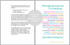 Through Process Art ~ I Am Learning About ...