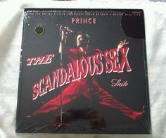 "PRINCE Basinger Batman The Scandalous Sex Suite 12"" Vinyl NM shrink gold stamp #Pop"