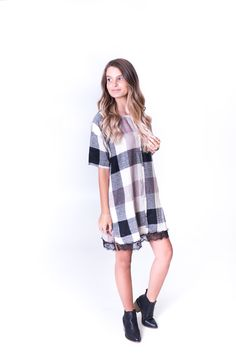 Shop the Dont Block Me Out dress from britainandbrooks.com