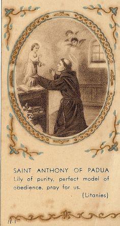 Vintage Prayer Card Catholic Angels Angelic by ChristmasAngels, $12.00