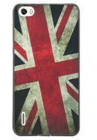 Luxuary high quality Case for Huawei Honor 6 uk banner pattern Mobile Phone Bag Case for Huawei Honor6 Cover Cases