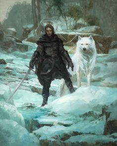Jon Snow by Justin Sweet