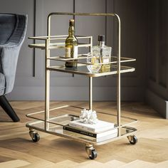 Stirling Bar Trolley | Atkin and Thyme