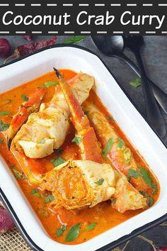 Crab Curry Recipe With Coconut Kerala Njandu Curry aromaticessence Lobster Recipes, Crab Recipes, Indian Food Recipes, Asian Recipes, Gourmet Recipes, Cooking Recipes, Healthy Recipes, Steak Recipes, Egg Recipes