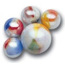 SHOOTER MARBLES COMET STUNNING 4 x 25mm NEW 1/""