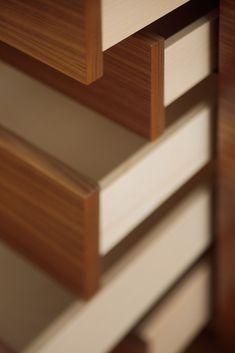 Mobilamo Highboard Details Wood Veneer, Real Wood, Montage, Designer, Home, Carpenter, Ad Home, Homes, Plywood