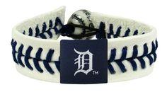 Detroit Tigers Authentic Baseball Bracelet