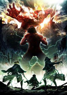 Imagen promocional y equipo de la segunda temporada de Shingeki no Kyojin.