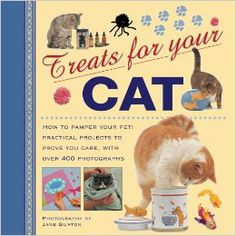 Treats For Your Cat: How to pamper your pet: practical projects to prove you care, with over 400 photographs  by Jane Burton $14.00 The ultimate book for treating your furry friend, with catwalk fashions and furnishings, kitty recipes, exciting games and amusements, and even a fun guide to astrology and your cat's horoscope.