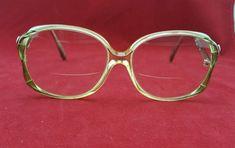 42b3543d4fff Christina Rx Bi Focal Big Eye Glasses Plastic 32 140