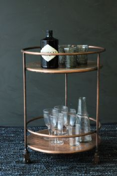 Shoreditch Drinks Trolley (for coffee machine/water pitcher)