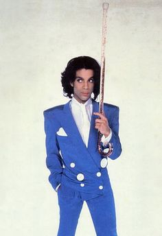 Classic Prince | 1988 Lovesexy promo photo with sportin' his 'Alphabet St. Cane' you can see him holding in the video and at times at the live concert. Interesting to note that Prince gave this cane to Miles Davis as a gift.