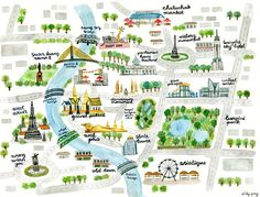 Map of Bangkok by Vicky Yang                                                                                                                                                                                 More