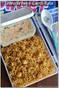 ChanaBiryani&CarrotRaita3 by vsharmilee, via Flickr