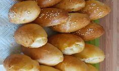 Εγγυημένα στρουμπουλά τυροπιτάκια, τα πιο αφράτα.. Dessert Recipes, Desserts, Hamburger, Bread, Food, Tailgate Desserts, Deserts, Brot, Essen