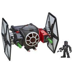 Playskool Heroes Galactic Heroes Star Wars First Order Special Forces TIE…