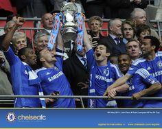Chelsea FC - FA Cup winners 2012