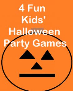 4 Kids' #Halloween Party Games via There's Just One Mommy