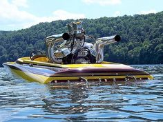 Good View of this Race Boat. Fast Boats, Cool Boats, Sanger Boats, Drag Boat Racing, Wooden Speed Boats, Flat Bottom Boats, Ski Boats, Boat Projects, Vintage Boats