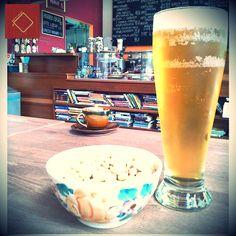 Piwo i orzeszki - idealny zestaw na relaks po pracy! ;)
