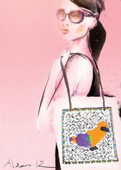 creative Fashion Female illustration