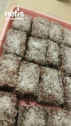 Lamington - Food and Drink Honey Dessert, Food Vocabulary, English Food, Turkish Recipes, Food Lists, Bon Appetit, Chocolate Cake, Food And Drink, Sweets