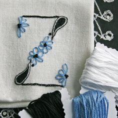 DIY pdf Crewel Embroidery Pattern Monogram Z is by PrairieGarden, $5.00