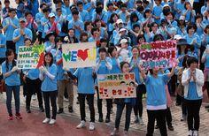 안성 국제위러브유운동본부(iwf장길자회장님) 클린월드운동 환경정화활동 // 국제위러브유운동본부(iwf장길자회장님)'2012 전 세계 클린월드운동'전개