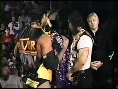 Mr. Perfect helps out Bret Hart (WWF 1992)