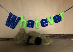 Custom Name Banner Felt Mobile Name Bunting Kids
