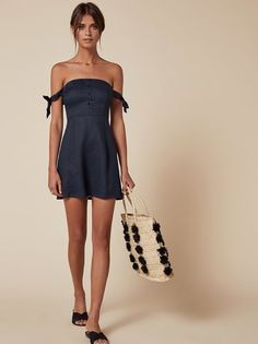 The Arnaut Dress https://www.thereformation.com/products/arnaut-dress-navy?utm_source=pinterest&utm_medium=organic&utm_campaign=PinterestOwnedPins