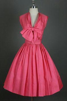 cute vintage pink dress