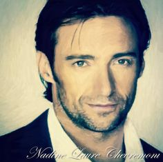 My Daily Drawings Sublimated Arts: Hugh Jackman - What I love more than anything in t...