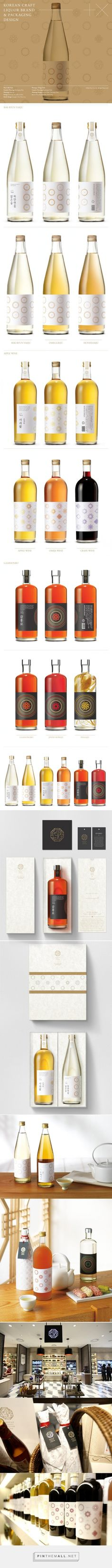 Shinsegae Traditional #Liquor #packaging designed by Plus X & Shinsaegae design team - http://www.packagingoftheworld.com/2015/03/shinsegae-traditional-liquor.html