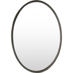 Hang this timeless mirror in the entryway or office for a stylish addition to your carefully composed gallery wall.    Product: ...