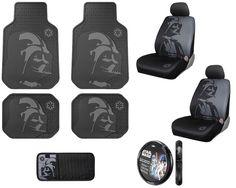 Star Wars Plasticolor Darth Vader Sets - Bring The Dark Side To Your Car Interior http://coolpile.com/gear-magazine/star-wars-plasticolor-darth-vader-sets-bring-the-dark-side-to-your-car-interior/ via CoolPile.com Amazon.com, Car Gear, Cool, Darth Vader, Gifts For Her, Gifts For Him, Star Wars, SUV, Trucks