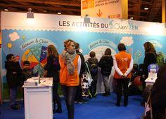 Le #Chien + Zen au Salon de l'Agriculture. http://www.lechienpluszen.fr