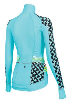 Chill Factor Embossed HT women's cycling jersey. The ultimate in warmth and comfort for outdoor cycling!