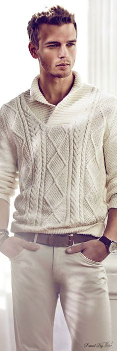Massimo Dutti 2015 ● David Genat ~ Tнεα I like the sweater